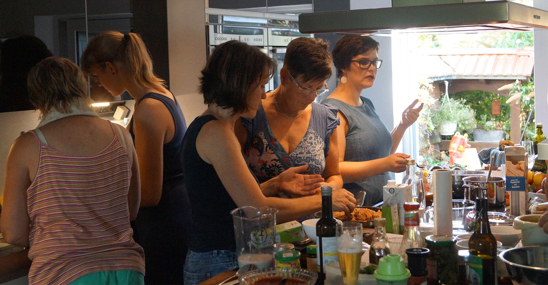 Das vegane (nicht kommerzielle) Bio-Koch-Event